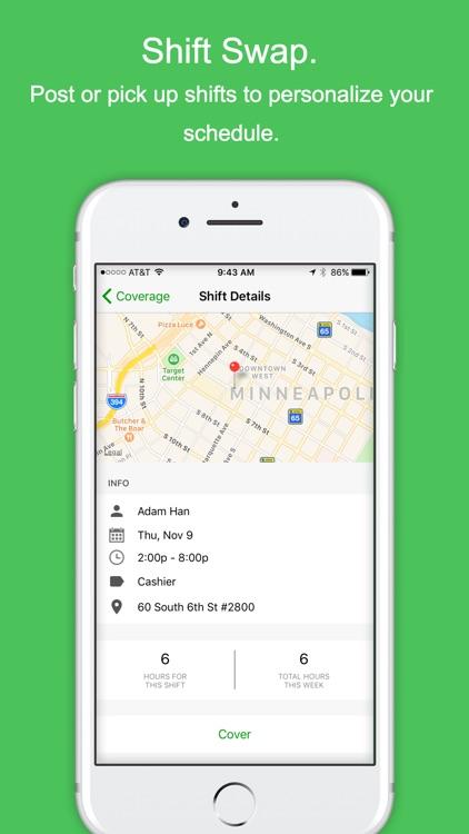 Branch Messenger Work Schedule screenshot-3