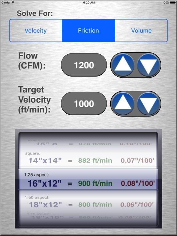 Hvac Duct Size Calculator App Price Drops