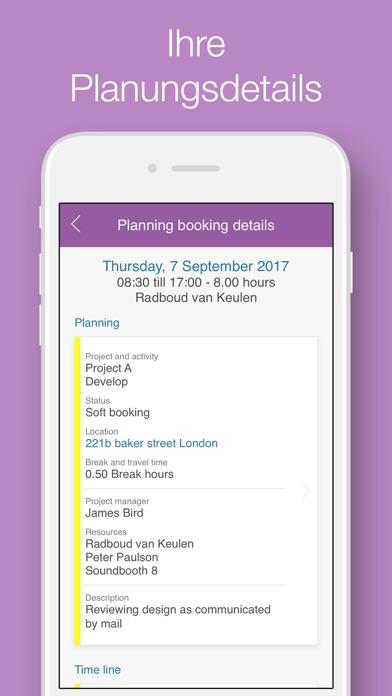 Timewax Planung & ZeitnachweisScreenshot von 2