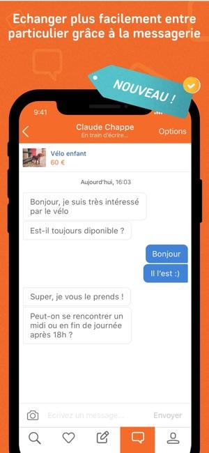 Leboncoin dans l app store - Leboncoin petites annonces gratuit ...