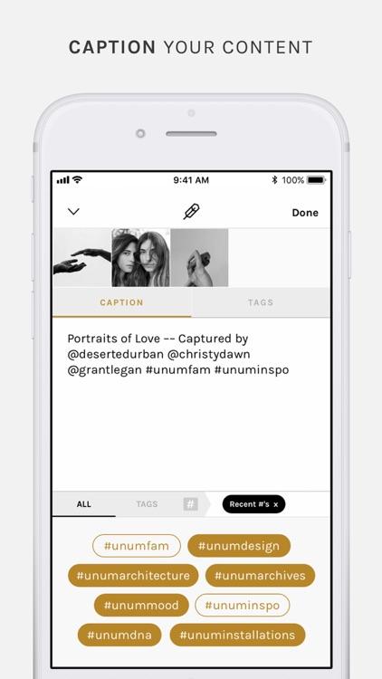 UNUM – Design Your Story screenshot-4