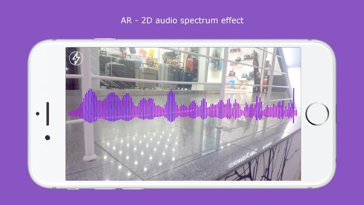 AR Audio Spectrum 3D screenshot-3