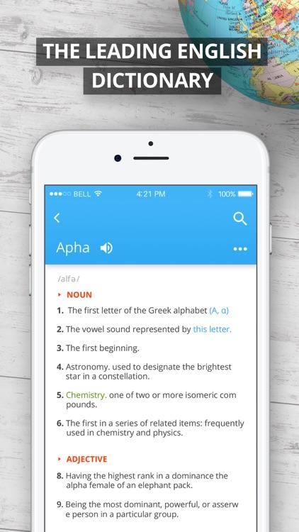 Oxford English Dictionary screenshot-0