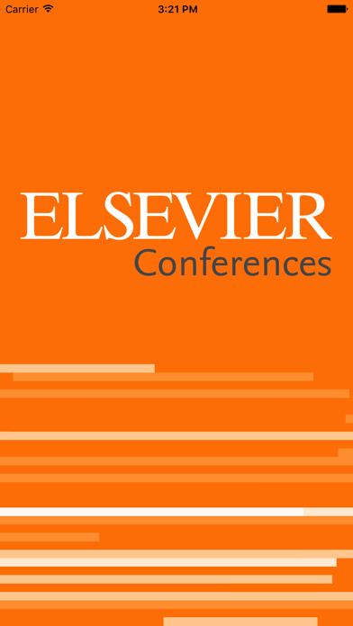 Elsevier Conferences App screenshot 1