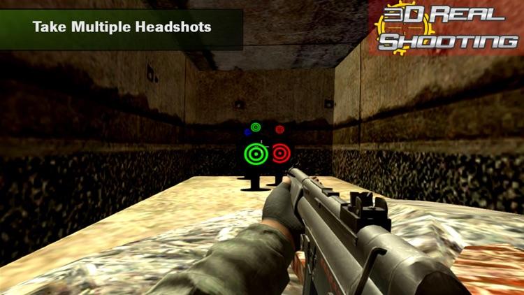 Range Shooting Simulation 3D Gun Shooting Training