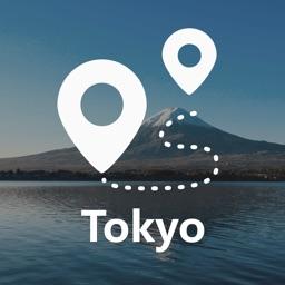 东京中文地图 - Tokyo离线导航