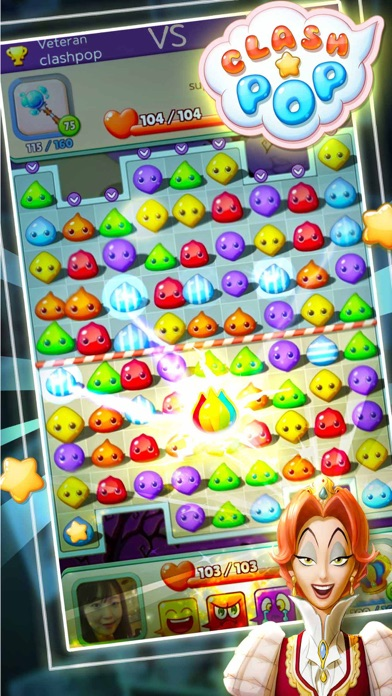 Clash Pop-Creative puzzle game screenshot 1