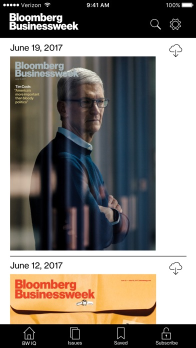 Screenshot for Bloomberg Businessweek+ in United States App Store