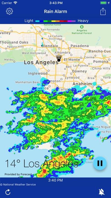 Rain Alarm Xt review screenshots