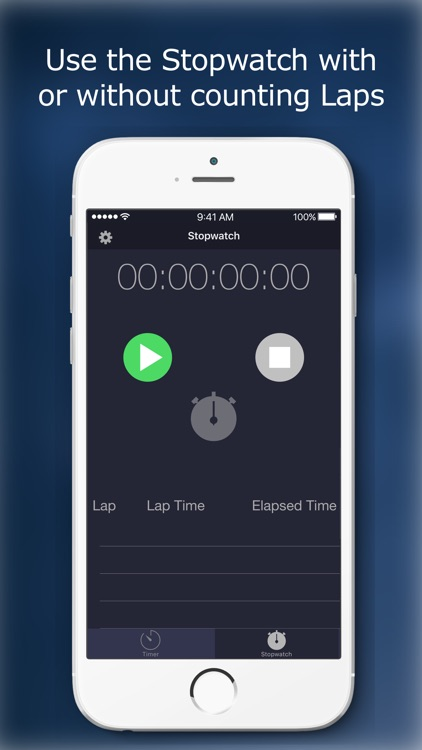 TimeTime - Stopwatch and Timer screenshot-3