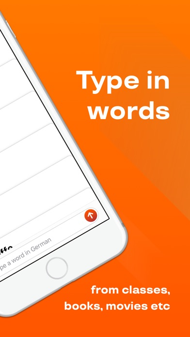 Reji: Learn & Repeat Words App Screenshots