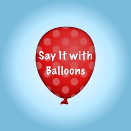 Say It with Balloons