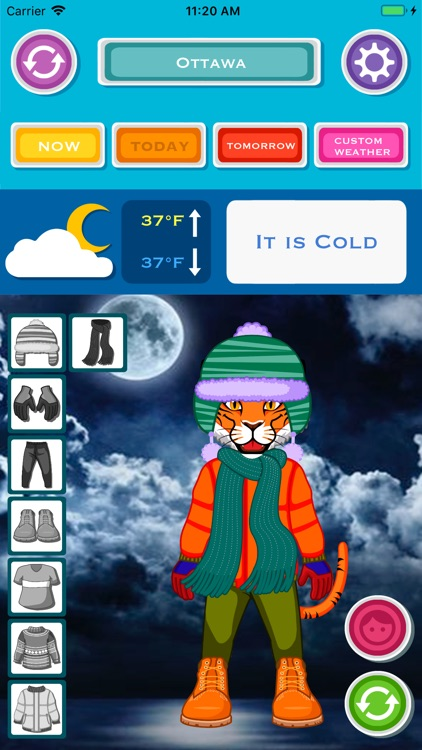 Kids Weather & What to Wear screenshot-7