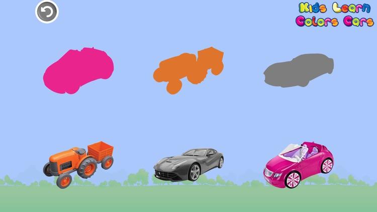 Kids Learn Colors Cars screenshot-7