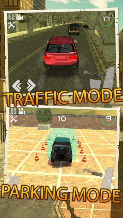 オフロードジープ車の運転駐車場のおすすめ画像1