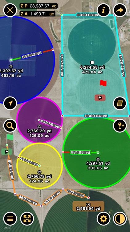 Planimeter - Measure Land Area & Distance on a Map