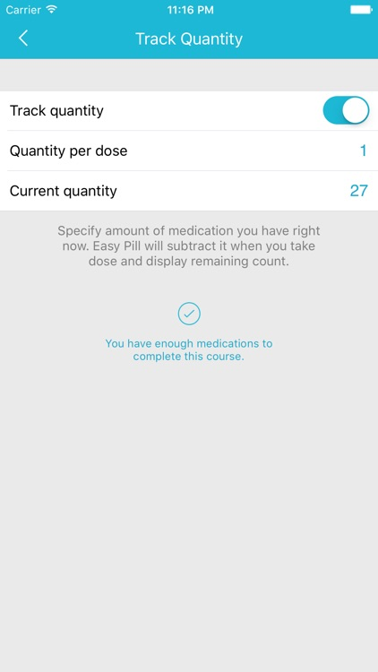 Easy Pill - medication tracker screenshot-4