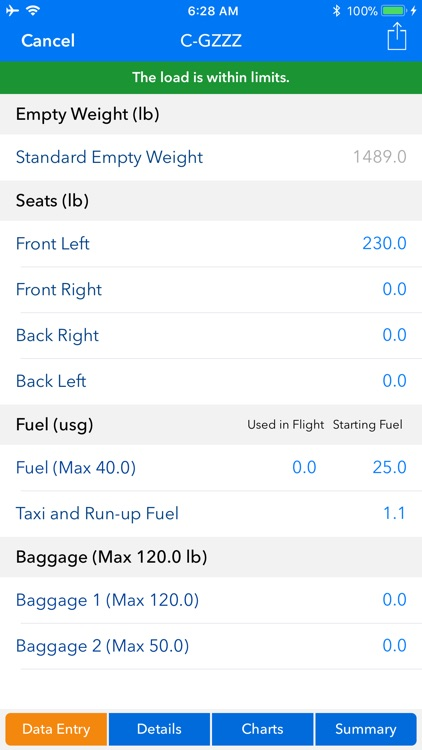 Aircraft Weight and Balance screenshot-5