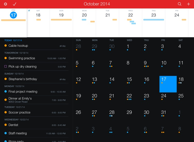 Fantastical 2 for iPad screenshot-0