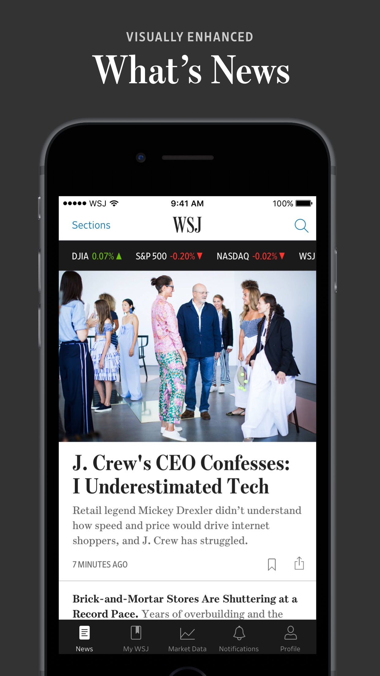 The Wall Street Journal ASO Report and App Store Data