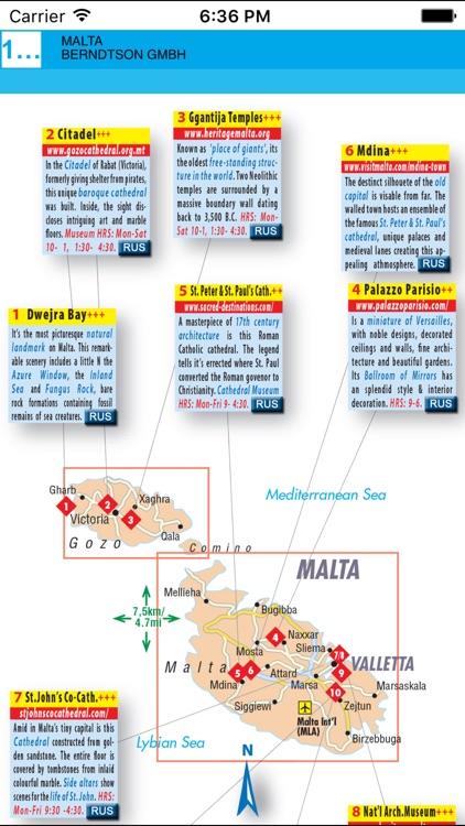 Malta. Road map. screenshot-4