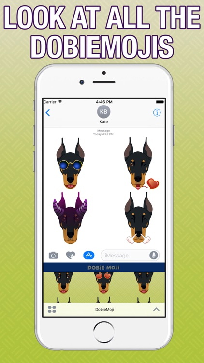 DobieMoji - Doberman Emoji & Stickers screenshot-3