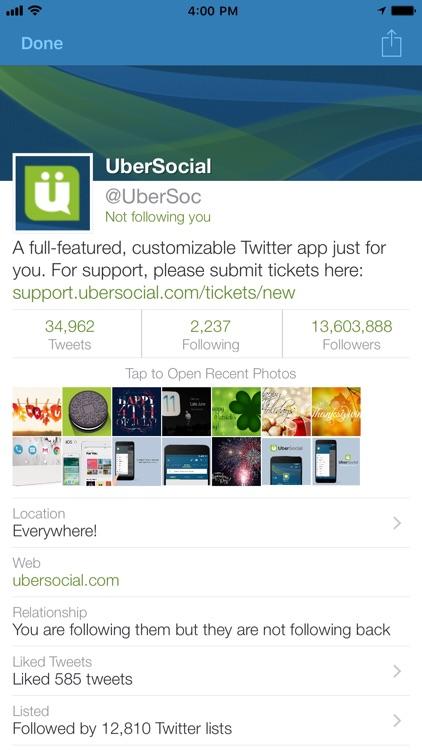UberSocial