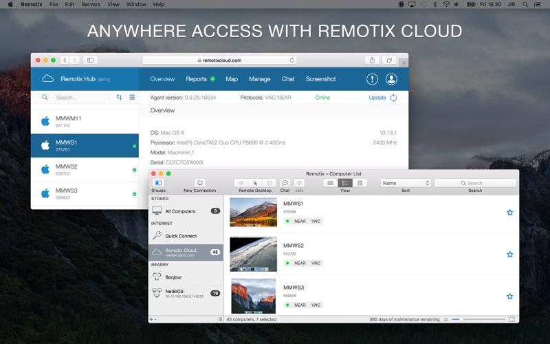 Remotix VNC, RDP & NEAR Screenshots