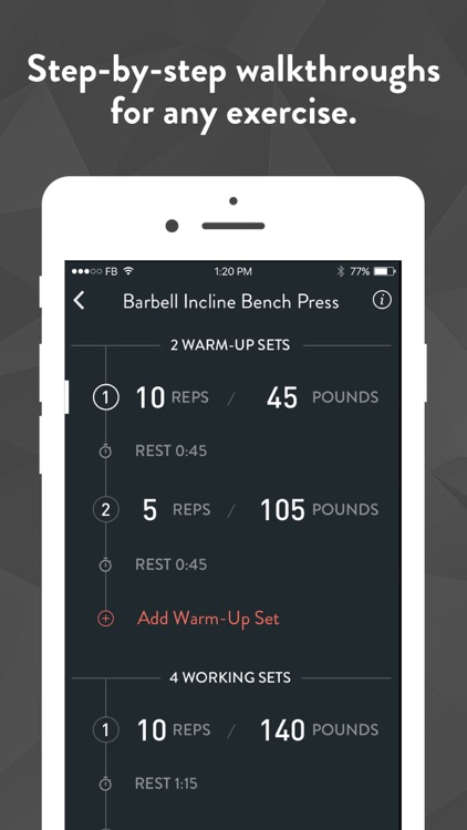 Fitbod Workout Tracker Gym Log