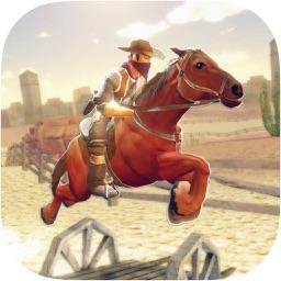 Wild West Cowboy-Rodeo Horse