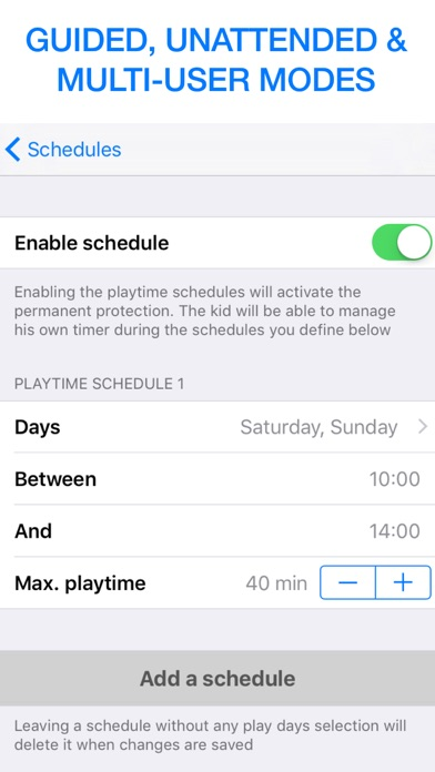 Screen Time Limit KidCrono screenshot three