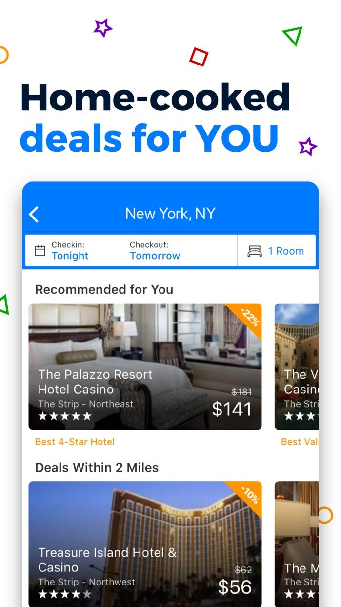 Priceline Hotel & Travel Deals Screenshot