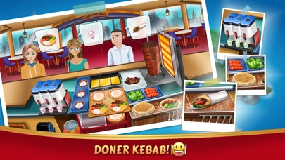 Kebab World - Cooking Game Screenshot 2