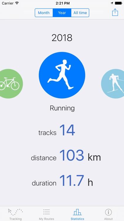 Routie ~ GPS sports tracker screenshot-4