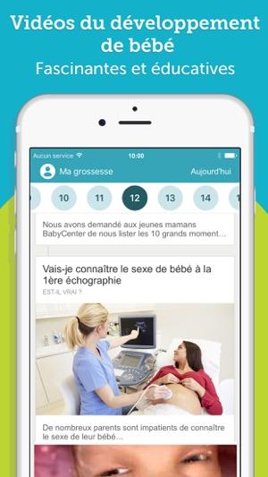 4ed925a81cc3e BabyCenter - Ma Grossesse dans l App Store