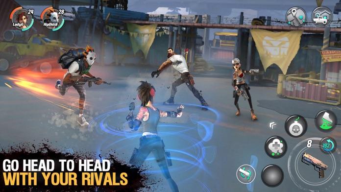 Dead Rivals - Zombie MMO Screenshot
