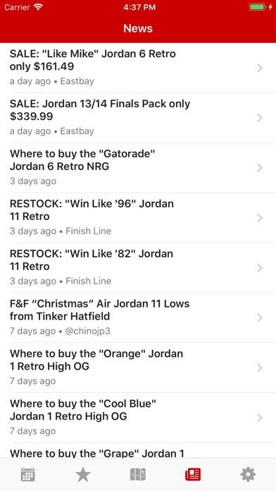 J23 - Release Dates &... screenshot1