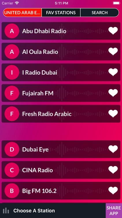 Live FM - World Radio Stations screenshot-8
