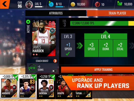 NBA LIVE Mobile Basketball iPad