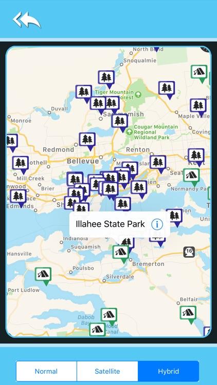 Washington Camping&State Parks screenshot-4