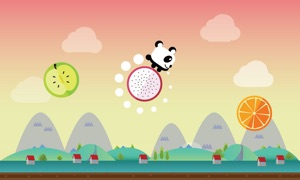 Fruit Jump & Run