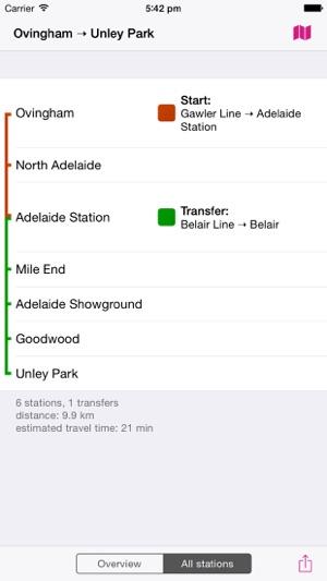Adelaide Rail Map Lite on the App Store