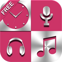 Free Radio Music Alarm Clock Set