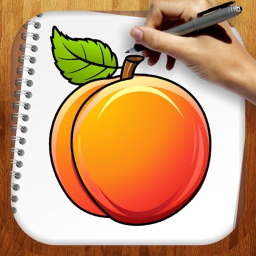 Как легко рисовать: фрукты