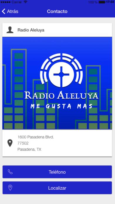 Radio Aleluya screenshot four