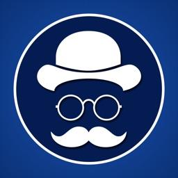 Man Style Photo Editor - Beard, Mustache, Sunglass