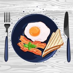 Fun Breakfast & Food Stickers