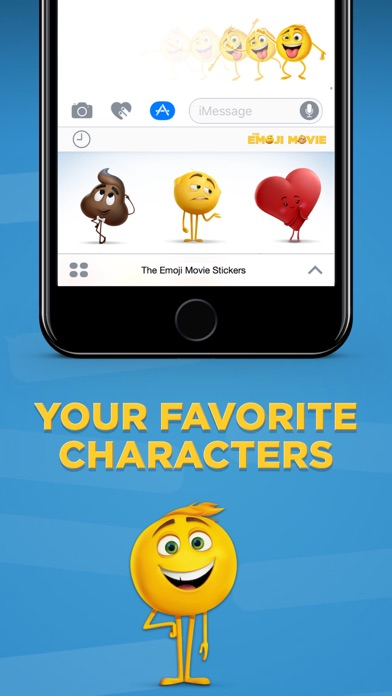 The Emoji Movie Stickers