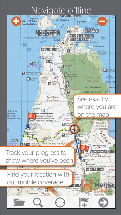 4WD Maps | Hema Australia Offline Topo Maps screenshot-0