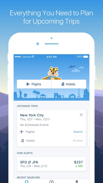 Hipmunk Travel Search screenshot-0